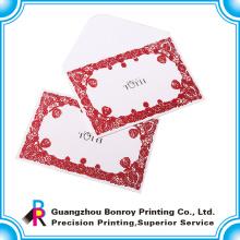 Schöne Grußkartenumschläge des Offsetpapiers für Weihnachten