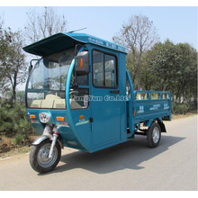 Triciclo elétrico do frete 48V * 800W, bicicleta elétrica Semi-Fechada