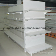 Metal Gondola Double Side Common Display Shelf for Supermarket