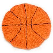 Basket rund filt nyfödda Babyfilt spela matta matta