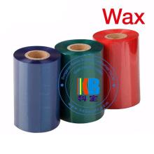 Ruban 110mm * 300m de code barres de cire de ruban d'imprimante à transfert thermique