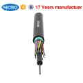 20 anos de fibra óptica fornecimento de fábrica baixo preço GYTS cabo de alimentação