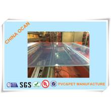 Harte transparente PVC-Folie für Vcamforming