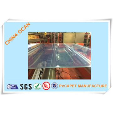Folha rígida de PVC de extrusão para impressão offset