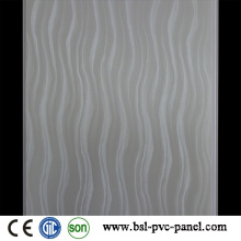 Nuevo molde 25cm 5mm Panel de pared laminado de PVC