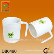 Factory direct wholesale 325cc ceramic gift mug