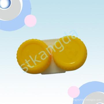 Boîte en plastique adaptée aux besoins du client de lentilles de contact / caisse transparente de récipient