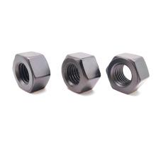 Écrous en acier inoxydable DIN934 de qualité 8.8 zingués
