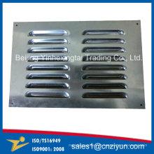 Persienne d'aération d'acier inoxydable d'OEM, sortie d'air d'acier inoxydable