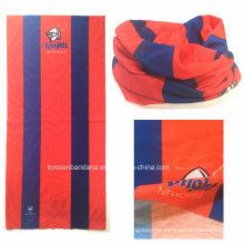 OEM производства под заказ логотип печатных рекламных многофункциональный трубчатый шарф