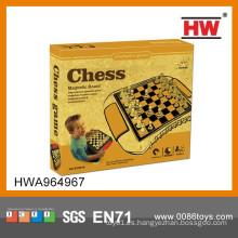 Juegos de ajedrez internacionales baratos del magnetismo del juguete