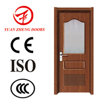 China Supplier Wooden Door Designs Hotel Door Glass Door