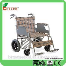 Foshan léger Aluminium fauteuil roulant produits de soins pour personnes âgées