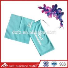 screen printed Customize drawstring sunglasses microfiber bag,logo microfiber eyeglasses bag