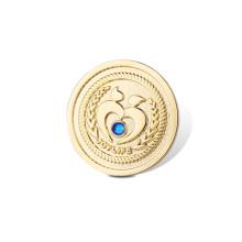 Emblema de organização de ouro, alfinete de lapela personalizado (GZHY-LP-007)