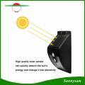 10 LEDs lumière solaire extérieure avec des lampes solaires de capteur de mouvement 300 lumens imperméable pour lampe de sécurité jardin