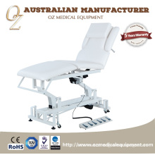 5 Sections Treatment Bed Physical Therapy Massage Table Movable Treatment Bed
