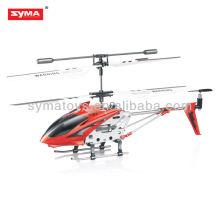 SYMA S107G mejores 3.5 canales de aleación de infrarrojos de metal caliente helicóptero nuevos productos para 2012