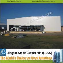 Hangar de aviones de estructura de acero prefabricado profesional y de alta calidad