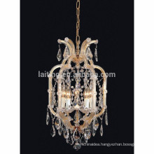Small size home use maria theresa chandelier 5 lamps crystal lighting-80018