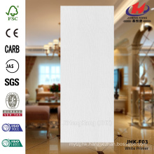 JHK-F03 Texture Cheap Price Wood Grain White Primer Flush Door Skin                                                                         Quality Assured