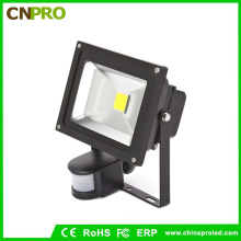 Al aire libre Detector 433MHz PIR LED PIR Lente 220V 50W Flood Light