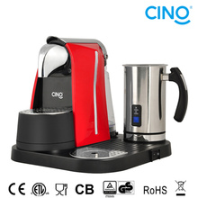 C. Coffee Machine with Milk Frother