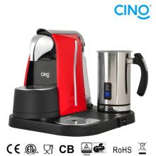 C. кофе-машина с Вспениватель молока