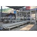Línea de producción automática completa de la máquina de fabricación de bloques