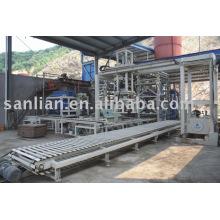 Полная автоматическая производственная линия машины для изготовления блоков