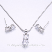 wedding jewelry set wholesale jewelry supplies china cubic zircon accessories