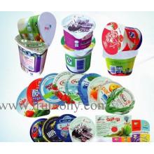 Folha de alumínio para embalagem de alimentos / papel alumínio