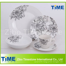 30PCS Fine Porcelain Dinnerware Dinner Set