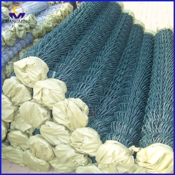 Factory Directly Pvc Coated Chain Link Wire Fence for Basketball Court