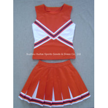 2017 Cheerleading Double tricot en uniforme et jupes