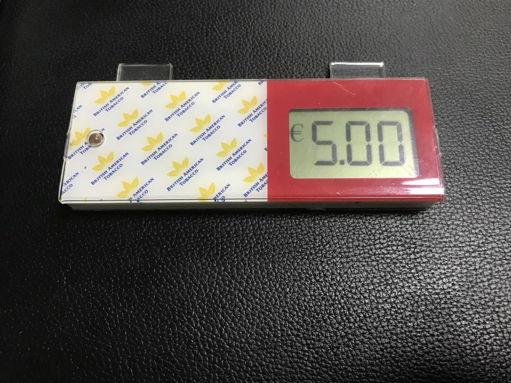Led acryl box display