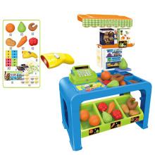 2016 mais novo produto crianças supermercado jogar conjunto com música (10253837)