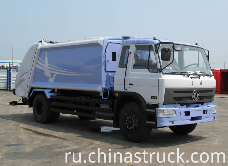 10CBM rubbish compression truck