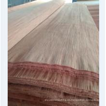 chapa de la cara de madera natural 4 * 8 PLB chapa que produce la fábrica en China
