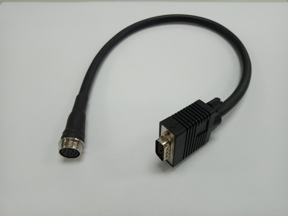 Din 13p To Vga Cable