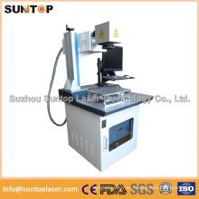 Máquina de marcado láser de matriz de datos de plástico / máquina de marcado láser de polietileno