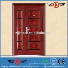 JK-F9059 metal strong steel fireproof wooden door