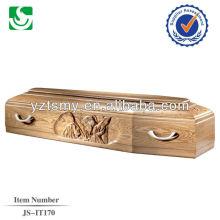 ausgewählte italienische Holzsärge mit schönen Schnitzereien Betten