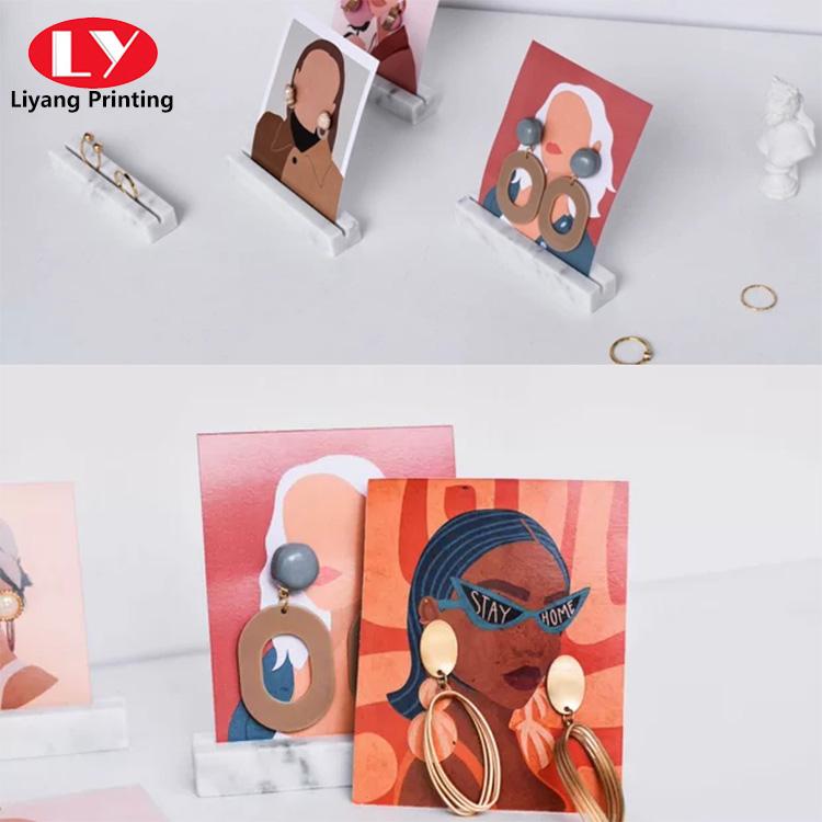 Earring Paper Card