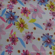 Tissu en mousseline de soie en mousseline de soie imprimé floral