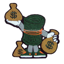 Money Cute Cartoon Chenille Embroidery badge