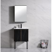 Black bathroom vanities stand for new