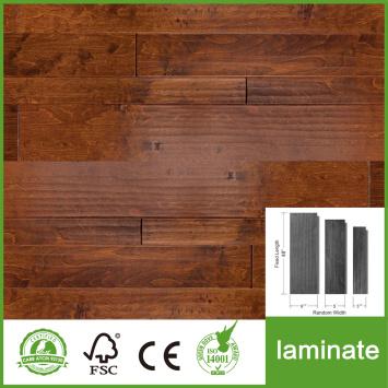 12mm Random Width Laminate Flooring