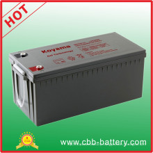 220ah 12V Gel Back up Battery for Photovoltaic System