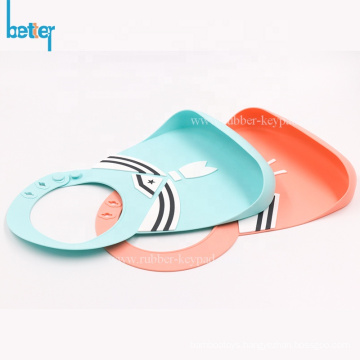 Soft Waterproof Funny Silicone Baby Bib for children